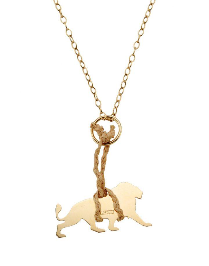 loroetu, collana leone, lion necklace