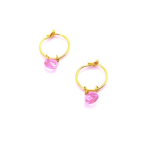Loroetu_Rose_Transparent_hydro_gem_earrings
