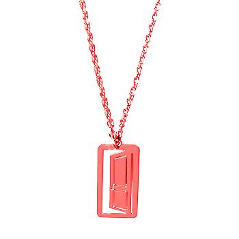 loroetu, collana porta rossa, door red necklace