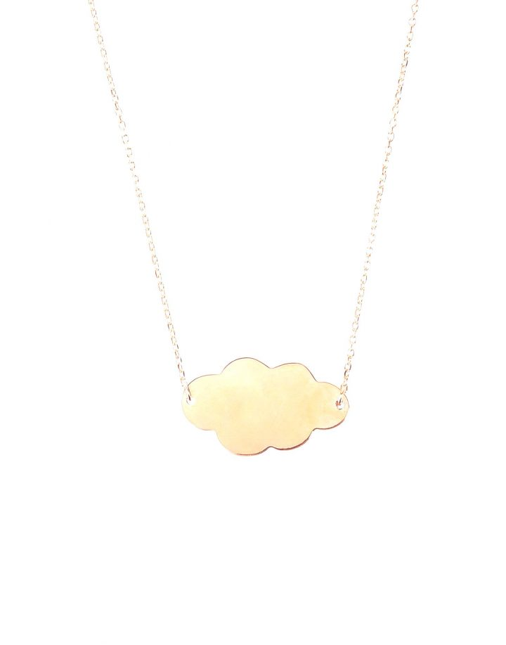 loroetu, collana nuvola oro, gold cloud necklace
