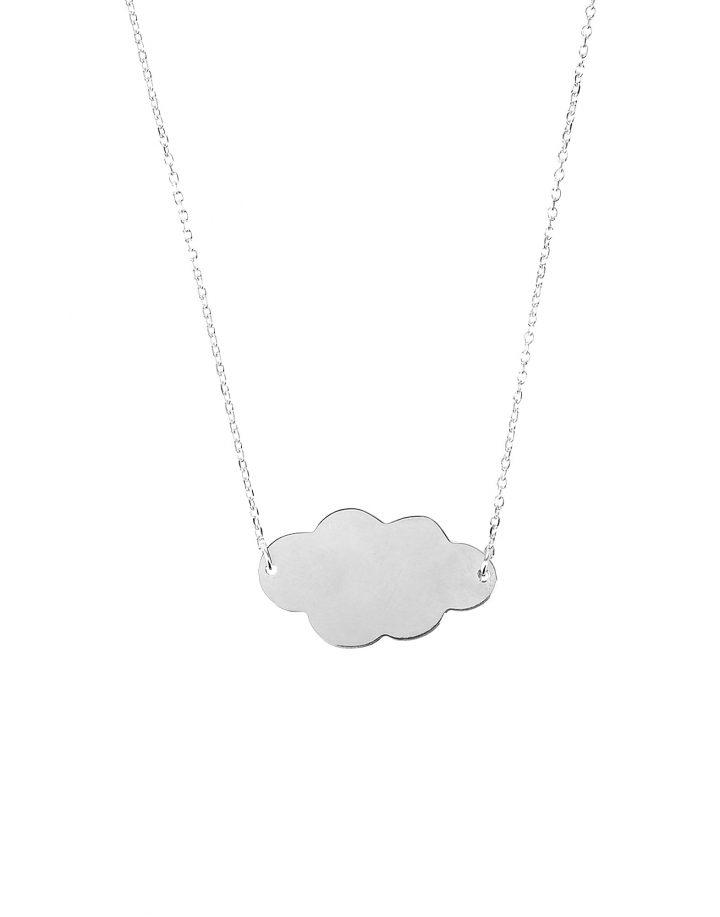 loroetu, collana nuvola argento, silver cloud necklace