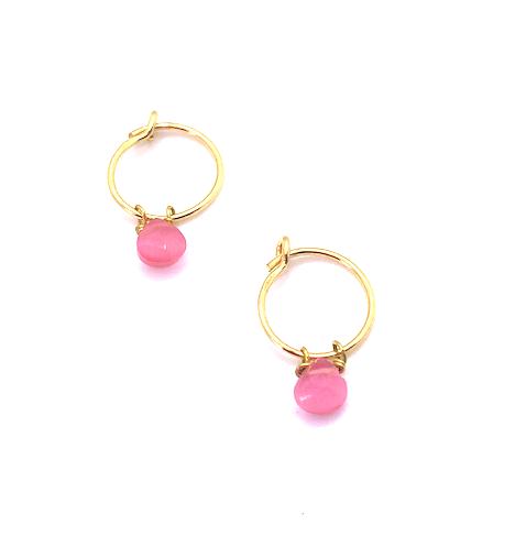 Loroetu_rosepink_hydrogem_earrings